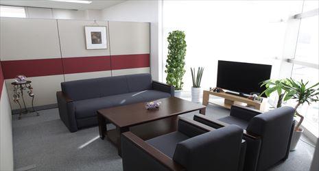 磐城総合法律事務所 応接室